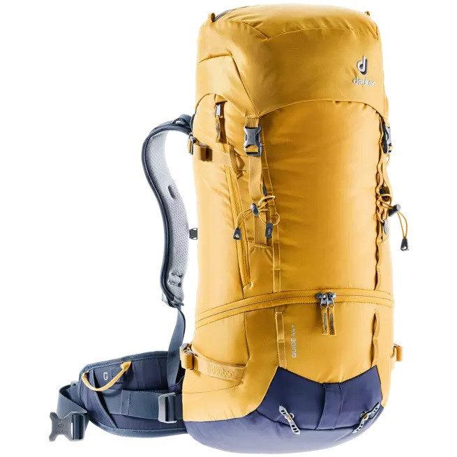 Žlutý skialpový batoh Deuter - objem 44 l