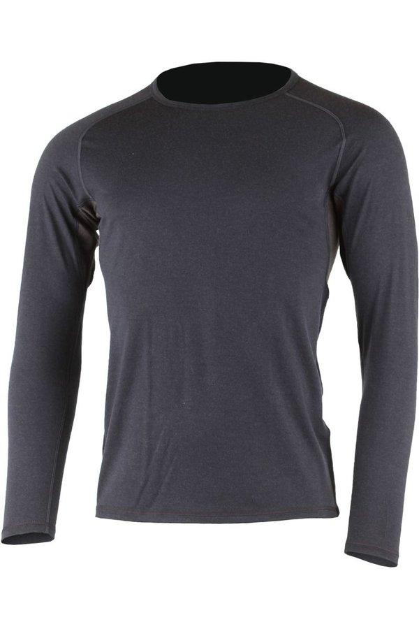Modré pánské tričko s dlouhým rukávem Lasting - velikost XXL