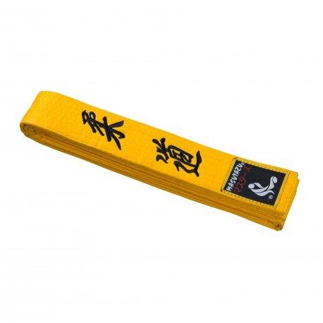 Žlutý judo pásek MASUTAZU