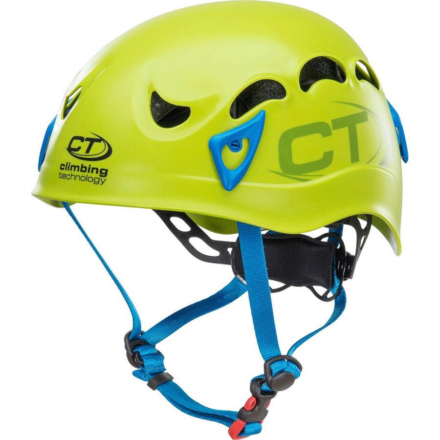 Zelená dámská horolezecká helma Climbing Technology - velikost 50-61 cm