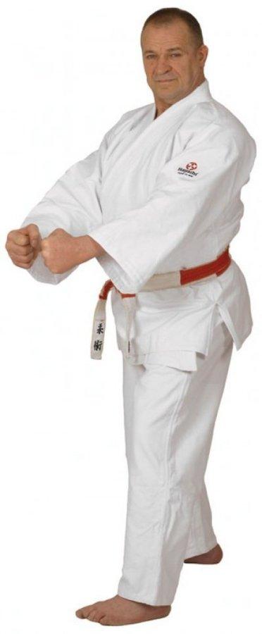 Bílé kimono na judo Hayashi - velikost 160