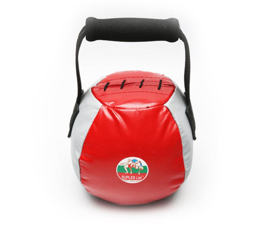 Kettlebell - Suples Fit® bell 12kg - červená