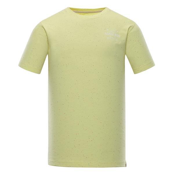 Žluté pánské funkční tričko Alpine Pro