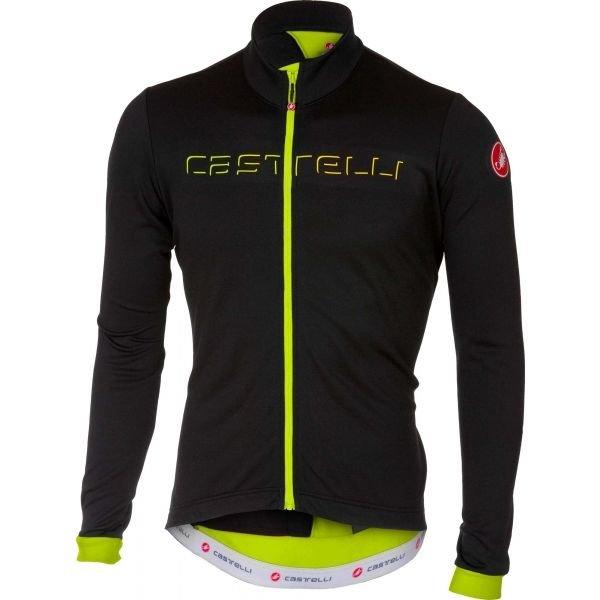Černý pánský cyklistický dres Castelli
