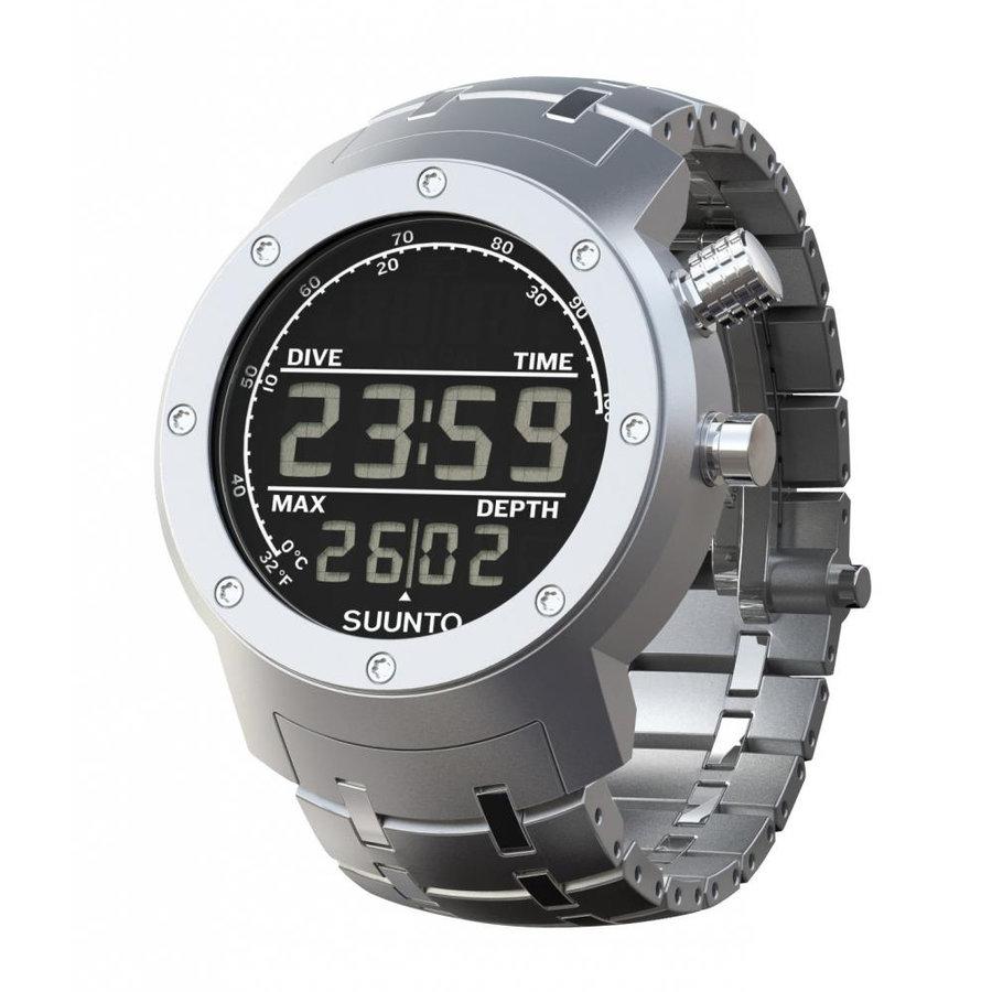 Stříbrné digitální sportovní hodinky Elementum, Suunto