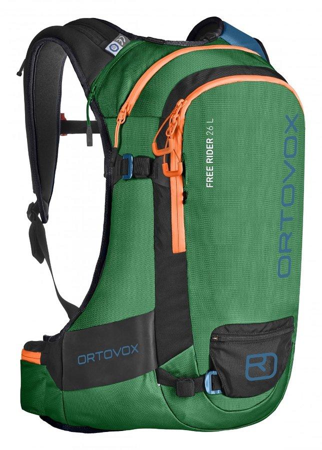Zelený skialpový batoh Ortovox - objem 26 l